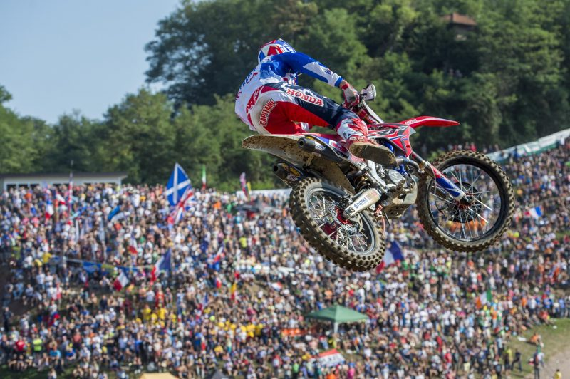 Paulin second in Open class as Team France lead the way | MXGP