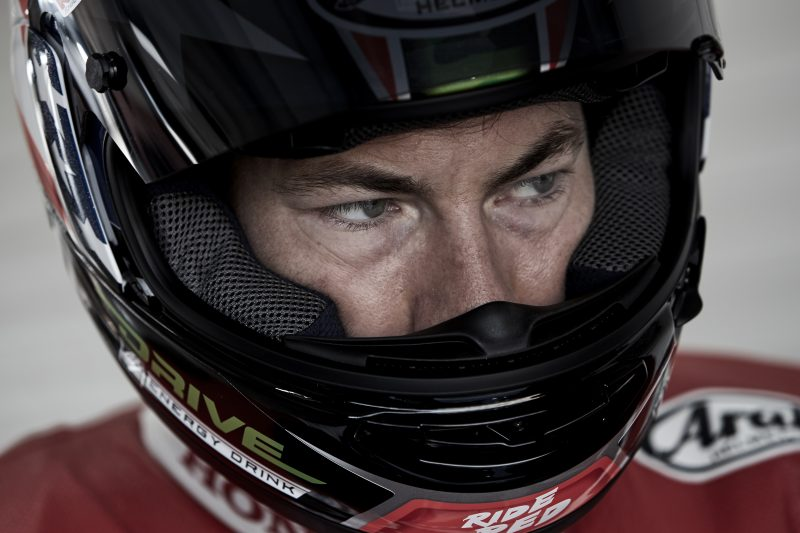 Nicky Hayden and the new Fireblade