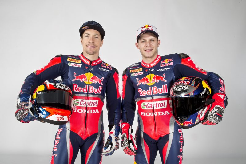Red Bull Honda World Superbike Team unveiled at Hangar-7
