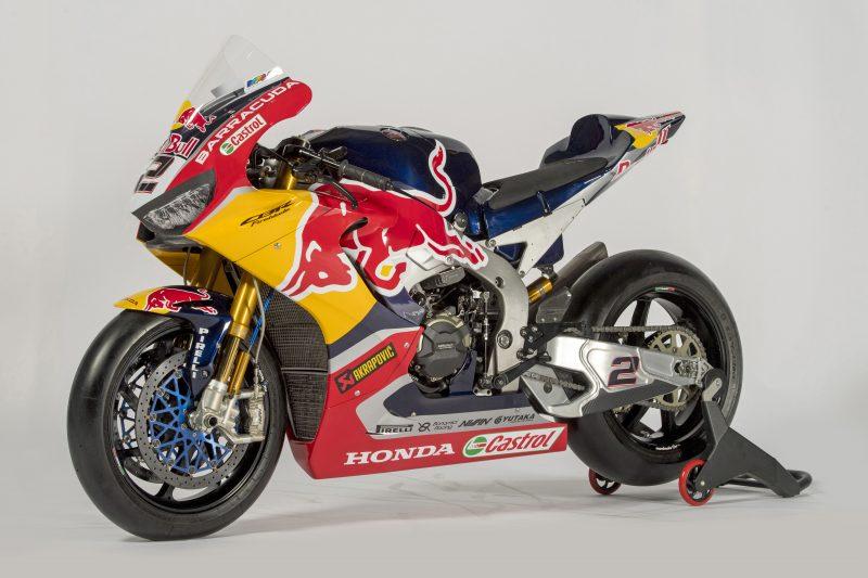 Honda Cbr1000rr Fireblade Sp2 Red Bull Honda World Superbike