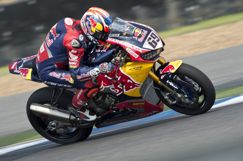 8a7567151f6 Red Bull Honda World Superbike Team with some work to do after day ...