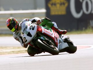 Colin Edwards Misano WSBK 2000