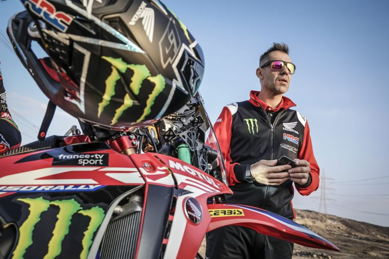 "Ruben Faria: ""We have worked hard to reach this Dakar at our best"""