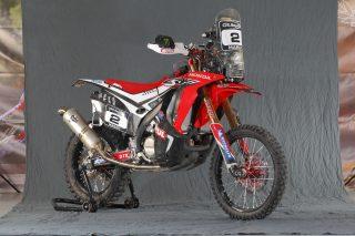 Homestory Speedbrain Honda Paris - Dakar Rallye