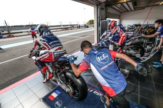 Ewc_Test_Days_Bol_Dor_2019_F.C.C TSR HONDA FRANCE, FORAY Freddy, HOOK Josh, DI MEGLIO Mike, Honda CBR 1000 RR, EWC