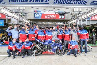 Ewc_24_H_Motos_2020_FCC TSR Honda France, Hook Josh, Foray Freddy, Di Meglio Mike, Honda CBR 1000RR, Formula EWC