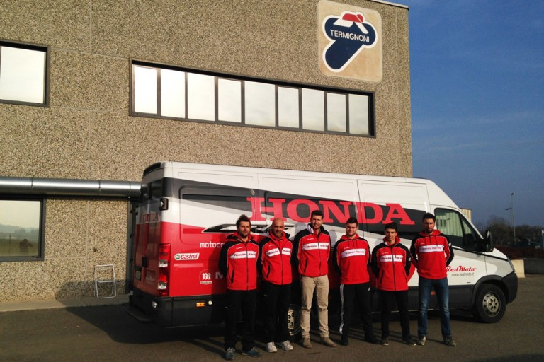 Honda RedMoto World Enduro Team and Termignoni exhaust systems together to win | Enduro