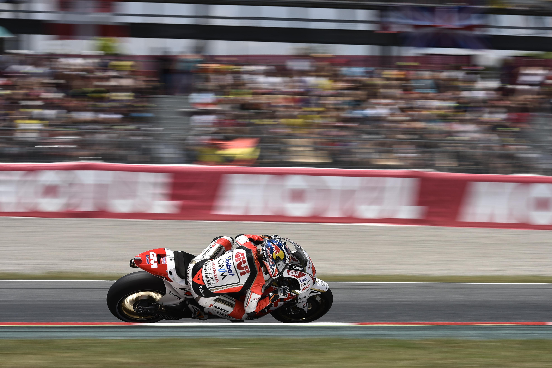 Pedrosa takes first podium since comeback as Marquez falls | MotoGP