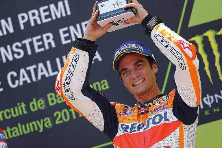 Marquez & Pedrosa score double Honda podium at red-hot ...