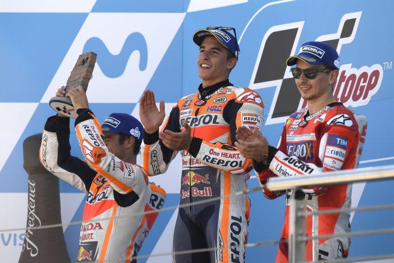 Marquez's 34th MotoGP Win Gives Him Title Lead | MotoGP