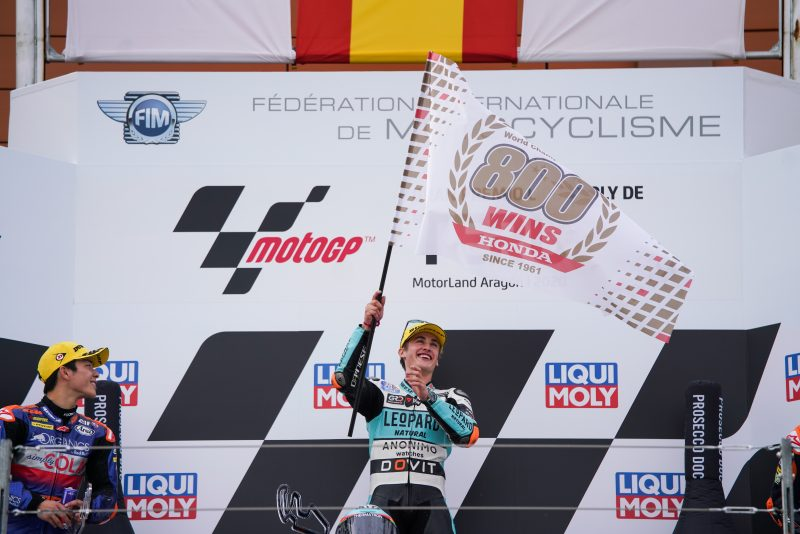 Masia takes record 800th Grand Prix win for Honda
