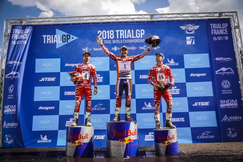 Onwards and upwards: Victory number 101 for Toni Bou in the world championship | Trial