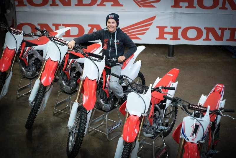 Christmas has come early for Honda 150 European champion Emil Weckman