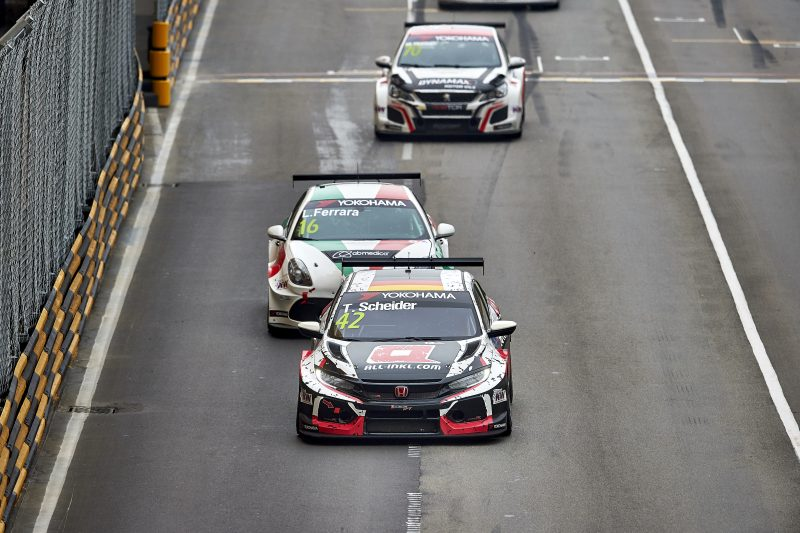 Double Points For Civic Type R Tcr In Macau Honda Racing Wtcr